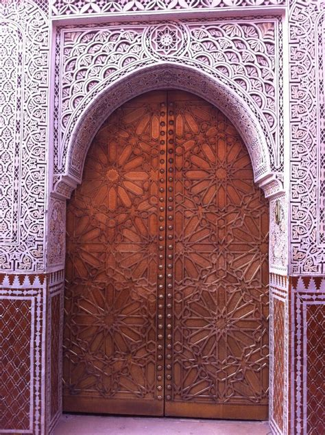 moroccan stucco x moroccan architectural gorgeous moroccan brass door intricate moroccan patterns