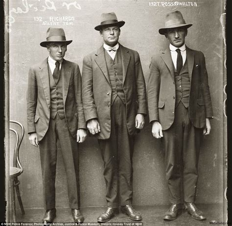 amazing mugshots of 1920s criminals arrested in