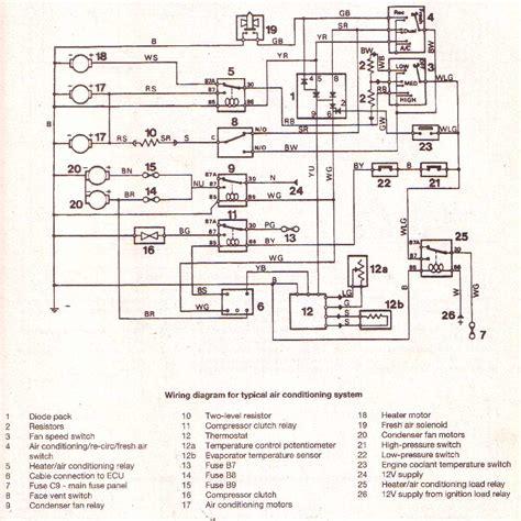 car wiring aircon rr land rover air compressor wiring