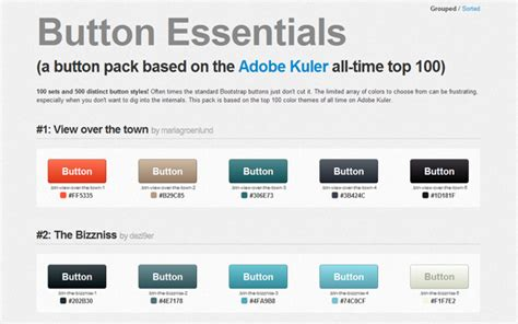 bootstrap button colors free bootstrap themes skins components