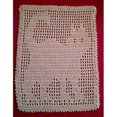cat doily crochet pattern filet cat doily a free crochet pattern from the jpf