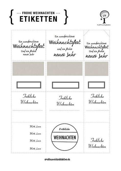 Etiketten Drucken Diy by Diy Gratis Download F 252 R Weihnachts Etiketten