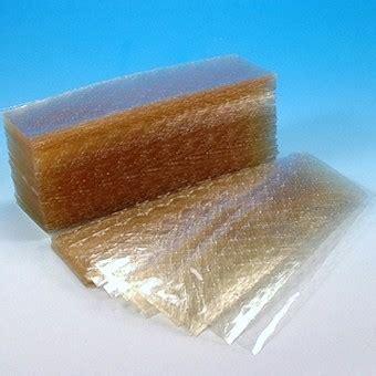 gelatina alimentare confezione di 3 fogli di gelatina alimentare o colla di