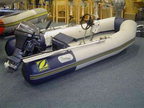 rubber boot met motor en stuur zodiac 310 s rubberboot met stuurset en 6pk yamaha 4takt