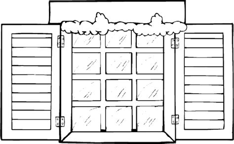 coloring page for window winter window coloring page purple kitty