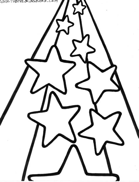 free coloring pages of shooting stars