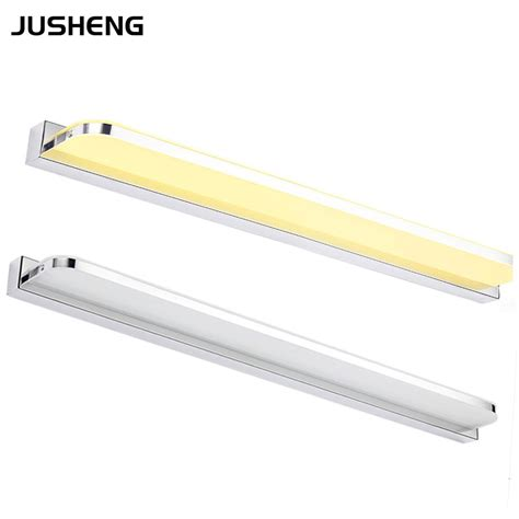 Indoor Led Light Fixtures 24w 110cm Led Mirror Light In Bathroom Led Wall Mounted Indoor Lighting Fixtures 100 240v