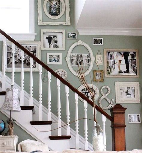 decorating with family photos decorating staircase walls with family photo gallery
