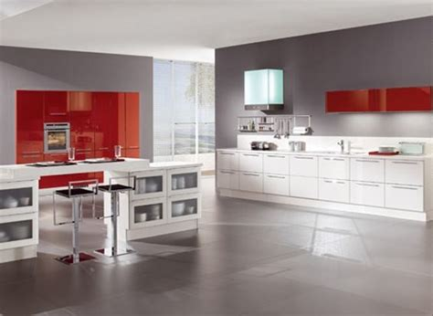 modern white gloss kitchen cabinets modern kitchen with red and white high gloss cabinets