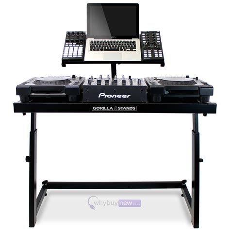 dj desk stand gorilla ds 1 dj deck stand