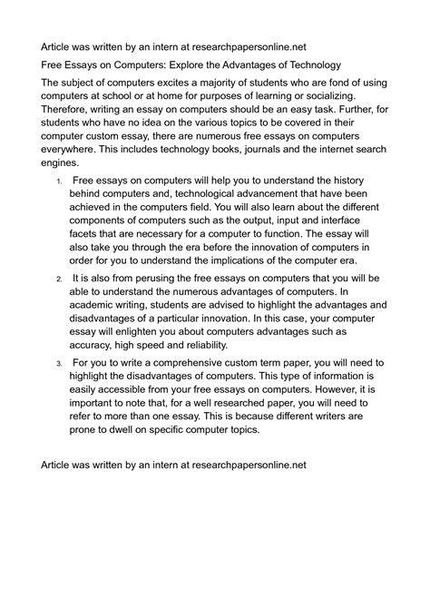 Write Technology Essay by Write My Technology Essay Top Writing Service