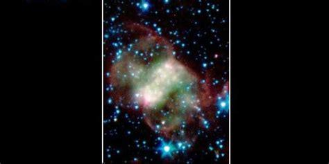 Piringan Dumbbell 3 sosok penakan hantu di luar angkasa hasil jepretan