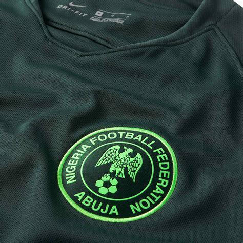 nigeria 2018 world cup away kit revealed footy headlines
