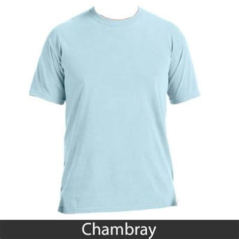 comfort colors chambray sorority est printed custom t shirt greek gear and clothing