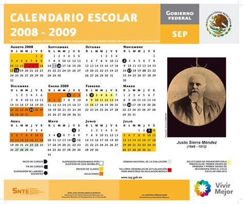 Calendario Agosto 2008 Calendario Escolar 2008 2009 Iddar Rumbo A Mecatronica