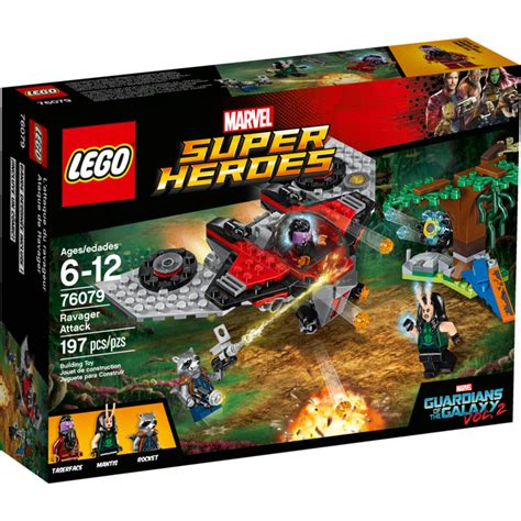 Lego 76079 Marvel Heroes Ravager Attack Guardians Of The Galaxy lego ravager attack set 76079 brick owl lego marketplace