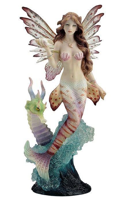 lionfish mermaid  seahorse dragon figurine mermaid gifts collectibles fairyglencom