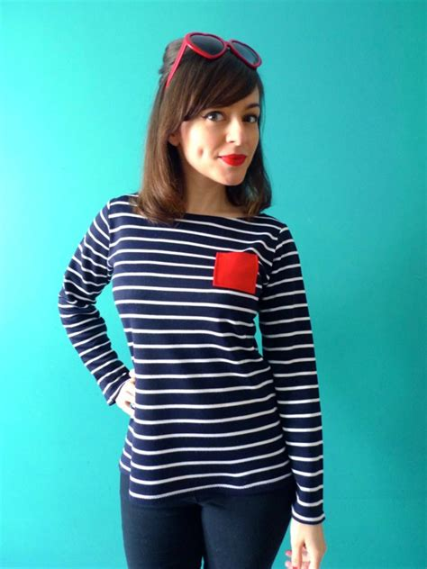 Coco Top coco dress and breton top pattern by tilly and the buttons