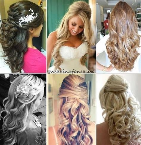 half up half down hairstyles front view wedding hair half up half down front view vizitmir com
