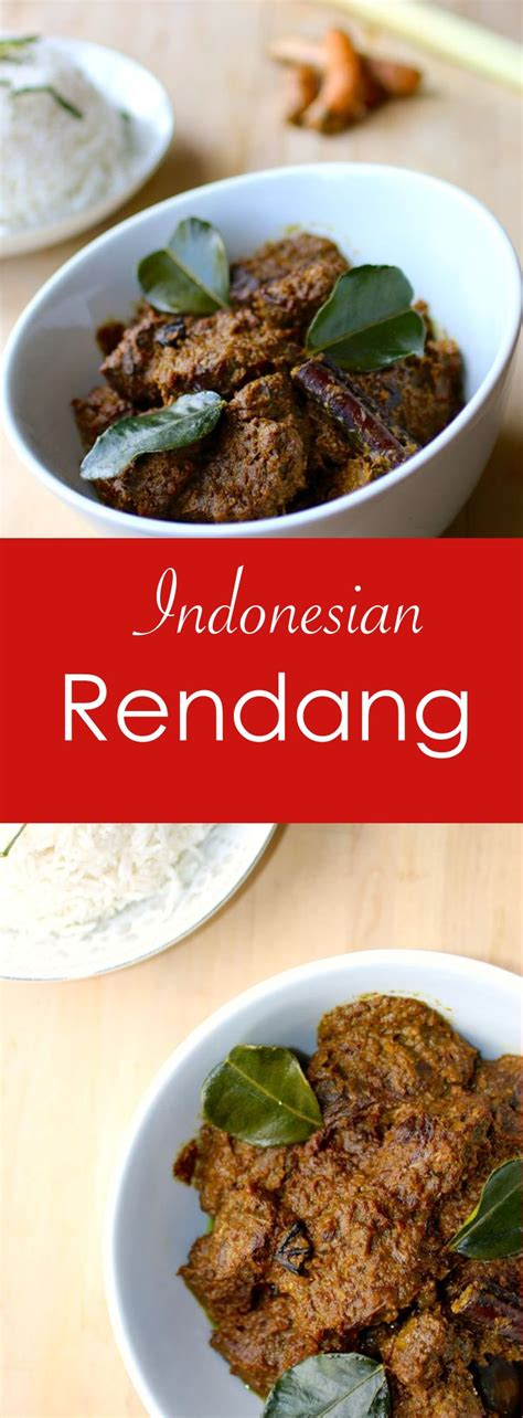 rendang authentic  traditional indonesian recipe
