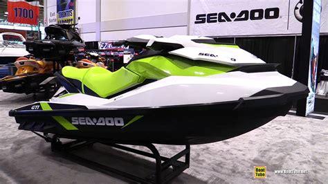 sea doo jet boats 2017 2017 sea doo gti jet ski walkaround 2017 toronto boat