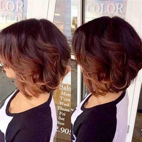 vies of side and back of wavy bob hairstyles short wavy hairstyles 2014 2015 short hairstyles 2017