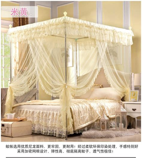 luxury canopy bed luxury european style mosquito net bed canopy frame queen