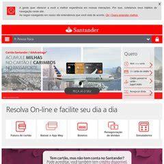 banco santander br www santander br banco santander brasil