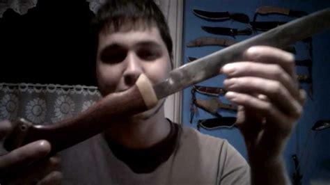 Messer Polieren Youtube by Ein Messer Aus Einer Spiralfeder Polieren Und