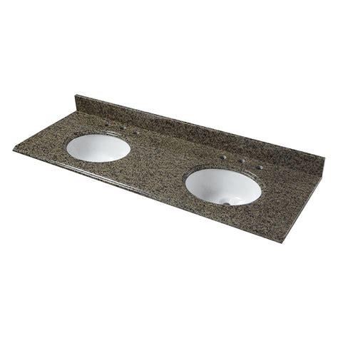 granite vanity tops without sink pegasus 61 in w granite vanity top in quadro with