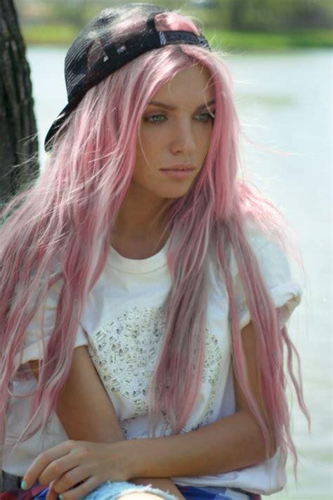 fuck yeah pastel pink hair