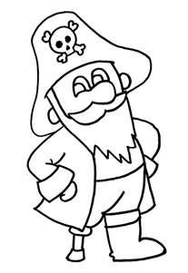 Pirate Coloring Pages Getcoloringpages