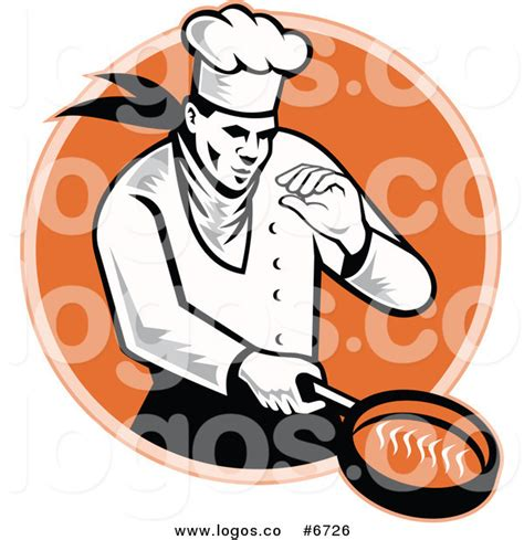 tattoo logo free food royalty free clip art vector logo of a chef cooking with a