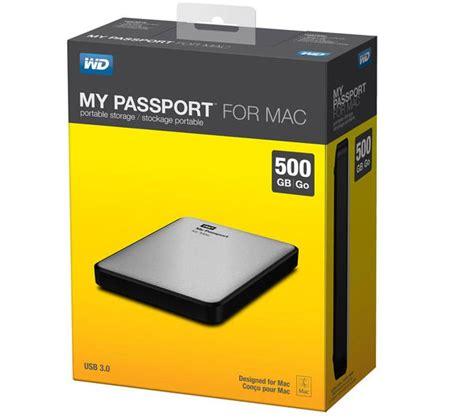 how to format hard drive mac my passport wd my passport portable hard drive for mac 500 gb