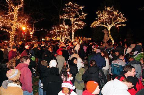 christmas festivities on tap throughout eht hamilton