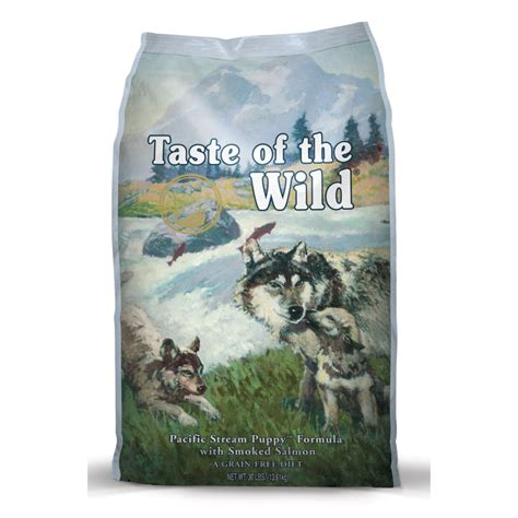 taste of the food buy taste of the puppy food smoked salmon 2 27kg