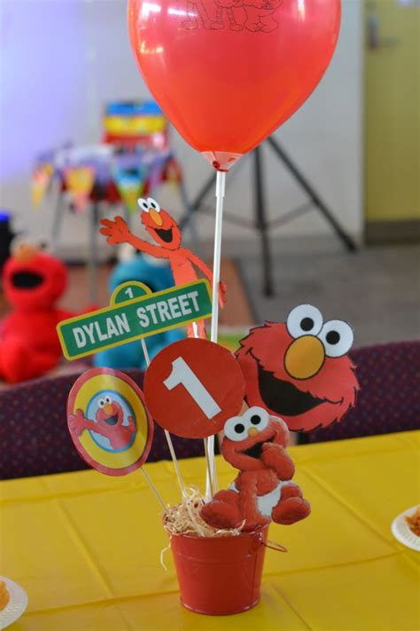 Elmo Decorations by 15 Best Images About Gabriel S 1st Birthday On