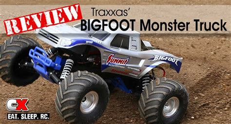 bigfoot 2 truck review traxxas bigfoot 2wd truck