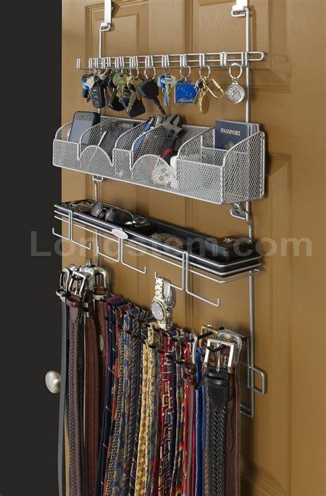 The Door Tie Rack by 1000 Ideas About Belt Holder On Closet