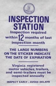 How Much Does An Inspection Sticker Cost