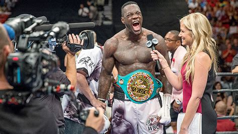 Search For The Wilder Deontay Wilder I M To Unifying The Belts Boxing News