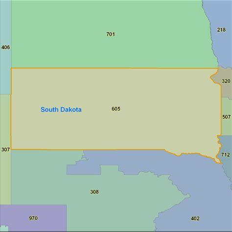 dakota zip code map south dakota area code maps south dakota telephone area