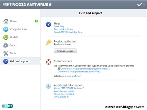 cara upgrade full version eset nod32 antivirus 4 download eset nod32 antivirus 6 full activator master
