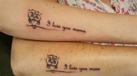51 extremely adorable mother daughter tattoos to let your