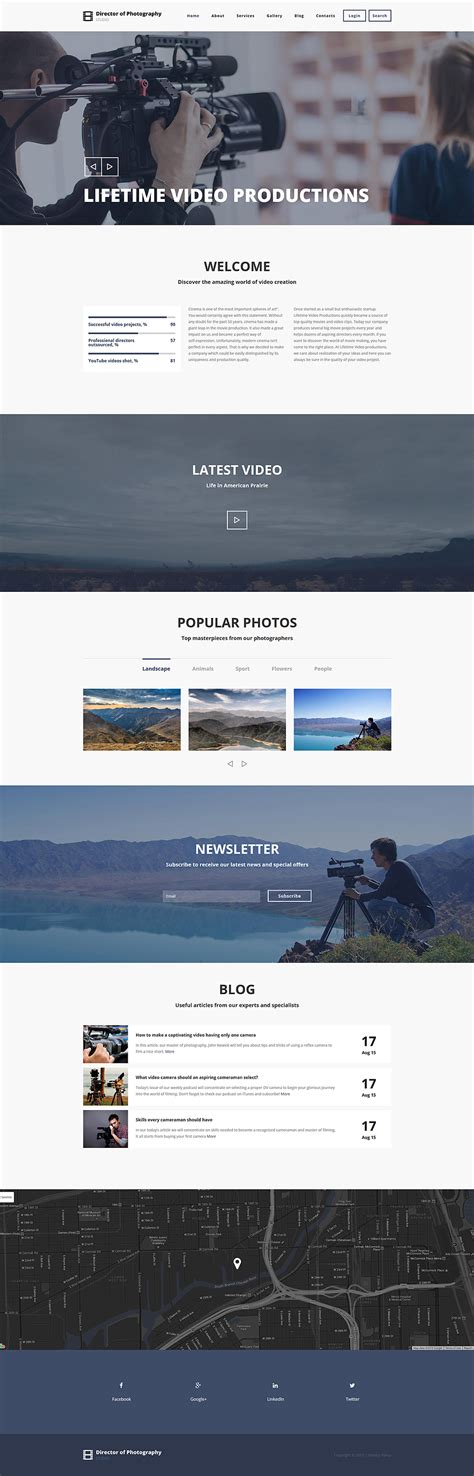 drupal themes photography photo drupal template