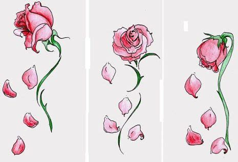 wilted rose tattoo wilted search to