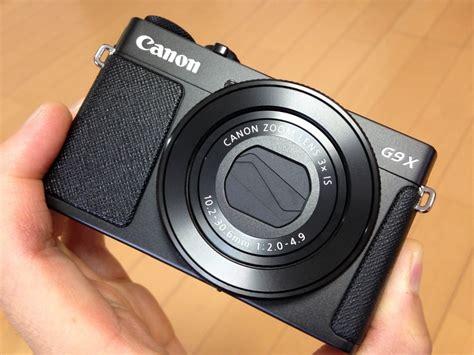 Canon G9x canon g9x mark2 は ファミコンカセット のサイズ感 シブリバラ短期大学