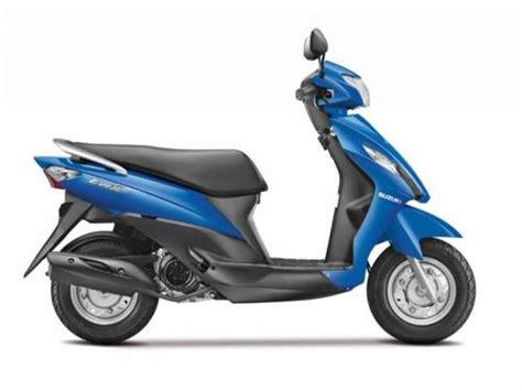 Suzuki Electric Scooter Suzuki Unveils 110cc Scooter Let S Specifications Details