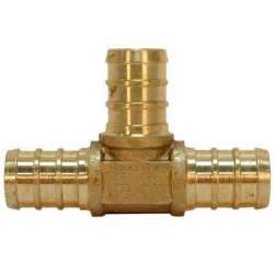 1 quot x 1 quot x 1 quot pex brass fitting crimp plumbing ebay