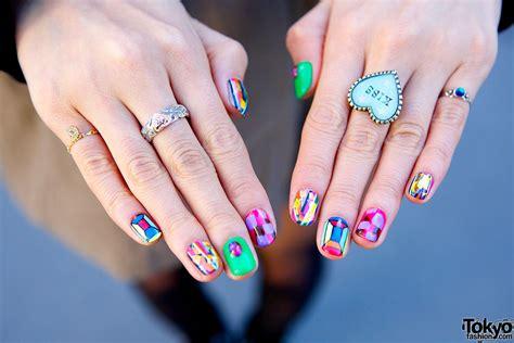 cute japanese nail art tokyo fashion news
